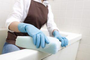 家政婦のお風呂掃除