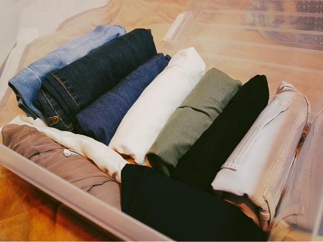 収納している服