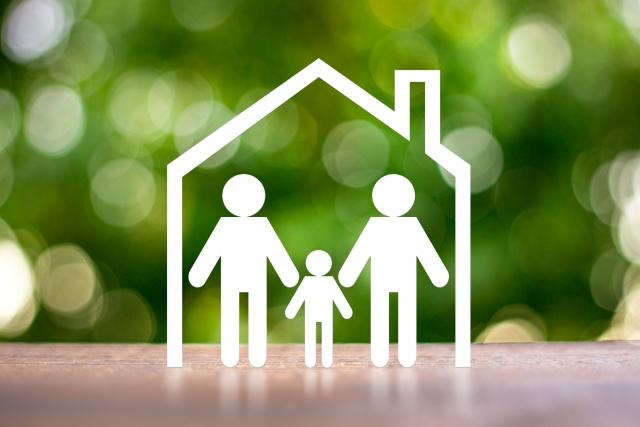 安全な3人家族
