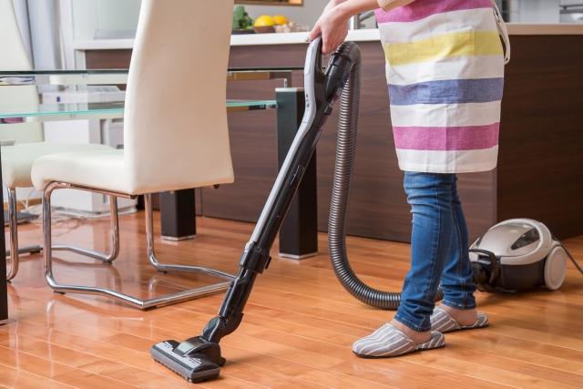 家事での掃除